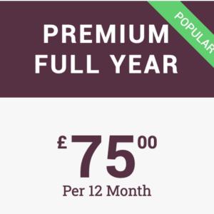 Premium 12 months
