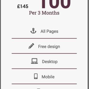 ME UK banner quarterly £100