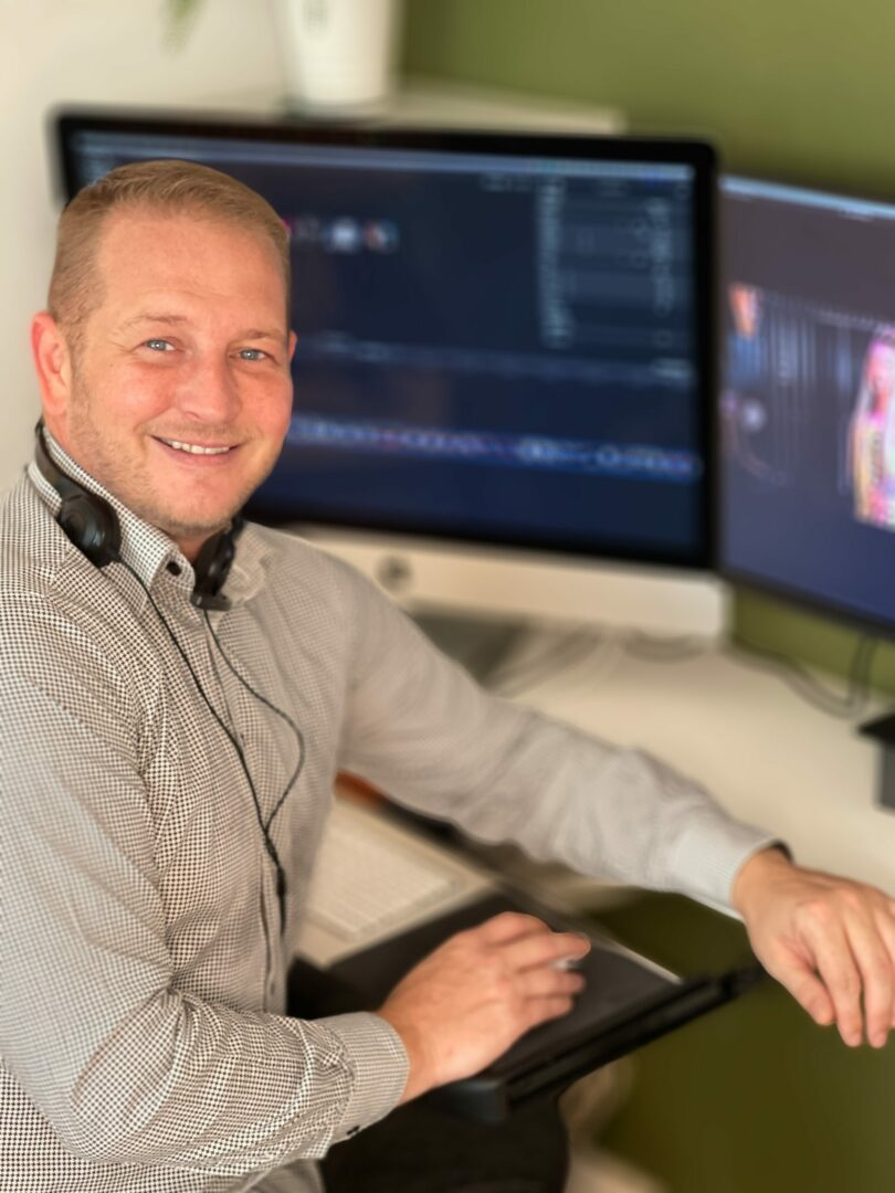 John Dixon working at Web video London