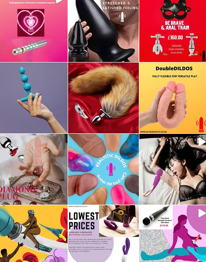 London website design social media